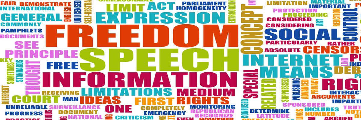 Freedom of Speech Concept in the Free World