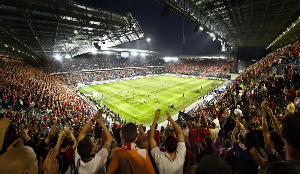 Wis?a Kraków soccer stadium
